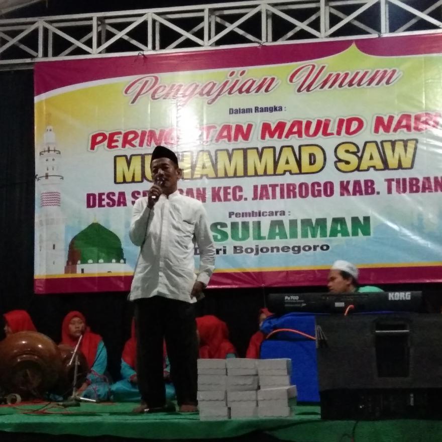 Pengajian umum peringatan maulid nabi muhammad saw.