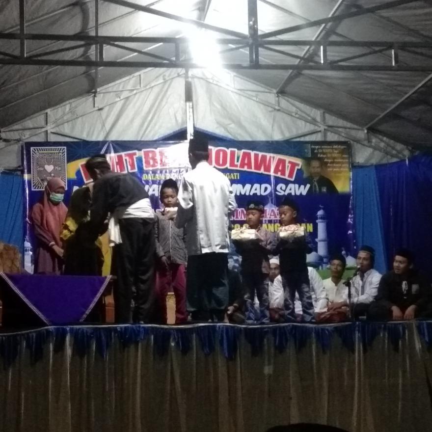 Pengajian maulid  nabi muhammad saw  bersama PSHT rayon sekaran ranting  jatirogo  cabang tuban