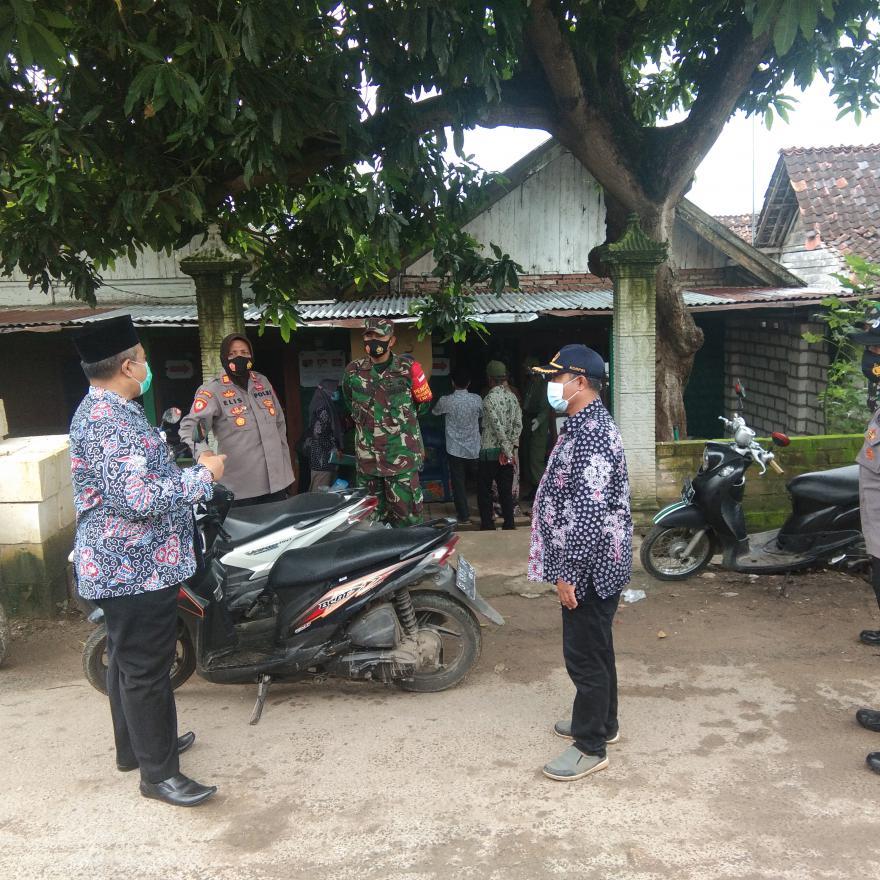 Kunjungan dan monitoring pilkada oleh tim kecamatan